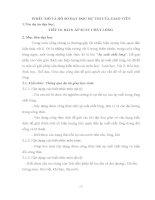Bài dự thi dạy học theo chủ đề tích hợp liên môn ( vật lý 8 Bài Áp suất chất lỏng)