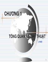 Bài giảng Kỹ thuật lập trình cơ bản: Chương 1  ThS. Phạm Đào Minh Vũ