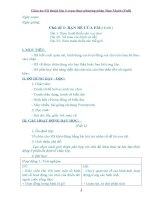 Giáo án Mĩ thuật lớp 3 soạn thep phương pháp Đan Mạch bản đẹp (Full)