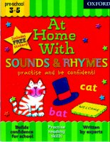 AT HOME WITH SOUND AND RHYMES abc book