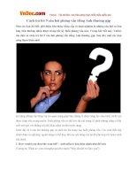 Cách trả lời 9 câu hỏi phỏng vấn tiếng Anh thường gặp