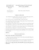 Thông tư liên tịch 13/2014/TTLT-BVHTTDL-BNV mã số, tiêu chuẩn chức danh nghề nghiệp viên chức ngành Thể dục thể thao