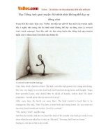 Học Tiếng Anh qua truyện: Kẻ nhút nhát không thể dạy sự dũng cảm