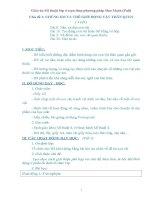 Giáo án Mĩ thuật lớp 4 soạn thep phương pháp Đan Mạch bản đẹp (Full)