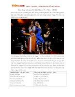 Học tiếng Anh qua bài hát: Happy New Year - ABBA