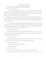 Đề cương ôn tập môn ĐO ĐẠC ĐỊA CHÍNH
