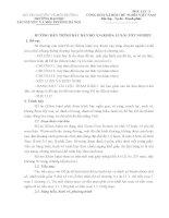 HƯỚNG DẪN TRÌNH BÀY BẢN ĐỒ ÁN (KHÓA LUẬN) TỐT NGHIỆP TRƯỜNG ĐẠI HỌC  TÀI NGUYÊN  VÀ MÔI TRƯỜNG HÀ NỘI