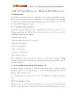 Một số lưu ý khi viết thư thương mại bằng tiếng Anh