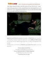 Học tiếng Anh qua bài hát: Send My Love (To Your New Lover) - Adele
