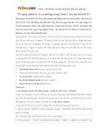 Từ vựng miêu tả về xu hướng trong Task 1 của bài thi IELTS