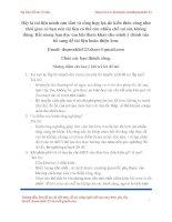 Tổng hợp 58 câu hỏi bảo vệ đồ án chi tiết máy