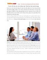 Cách viết đơn xin việc tiếng Anh 'đốn tim' nhà tuyển dụng