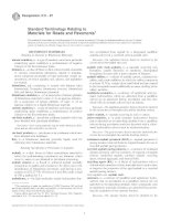 Tiêu chuẩn ASTM D008
