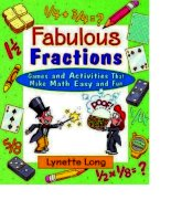 long l fabulous fractions games and activities