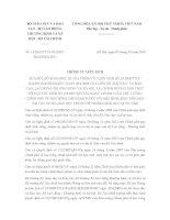 Thông tư liên tịch 14/2016/TTLT-BGDĐT-BLĐTBXH-BTC sửa đổivề học bổng chính sách đối với học sinh, sinh viên