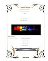 Báo cáo thực hành hóa phân tích 2