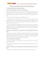 Những câu hỏi phỏng vấn kế toán bằng Tiếng anh