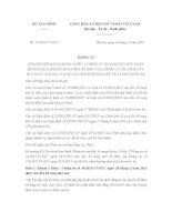 Thông tư 75/2016/TT-BTC sửa đổi hướng dẫn về lệ phí trước bạ