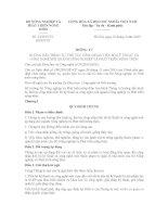 Thông tư quy định về điều kiện công nhận tiến bộ kỹ thuật số 13/2015/TT-BNNPTNT