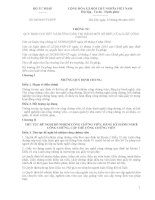 Thông tư hướng dẫn thi hành một số điều của Luật công chứng số 06/2015/TT-BTP