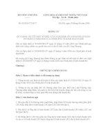 Thông tư 03/2016/TT-BCT quy định chi tiết một số điều của nghị định 19/2016/NĐ-CP về kinh doanh khí