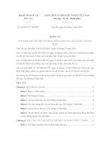 Thông tư 03/2016/TT-BKHĐT quy định chi tiết đối với hoạt động đào tạo, bồi dưỡng về đấu thầu