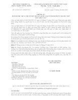 Thông tư 41/2015/TT-BNNPTNT về Quy chuẩn kỹ thuật quốc gia bơm thuốc trừ sâu đeo vai