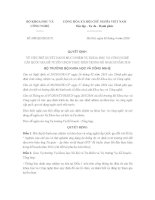 Quyết định 688/QĐ-BKHCN Danh mục nhiệm vụ khoa học và công nghệ cấp Quốc gia