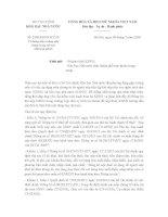 Công văn 2268/KBNN-KTNN hướng dẫn sử dụng mẫu chứng từ nộp tiền vào ngân sách nhà nước