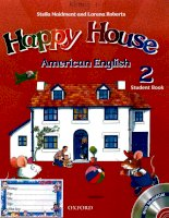 Happy house american english 2 student book