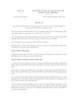 Thông tư 43/2015/TT-BYT quy định nhiệm vụ, hình thức tổ chức công tác xã hội của Bệnh viện