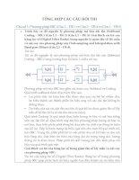 Đề thi và đáp án môn xử lý dữ liệu đa phương tiện