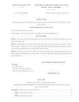 Quyết định 558/QĐ-KTNN Quy chế Kiểm soát chất lượng kiểm toán nhà nước 2016