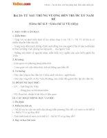Giáo án Lịch sử lớp 6 bài Từ sau Trưng Vương đến trước Lý Nam Đế (Từ giữa thế kỷ I đến giữa thế kỷ VI) (tiếp)