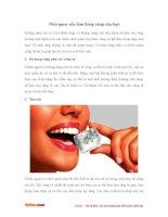 Những thói quen làm tổn thương răng mà bạn không ngờ