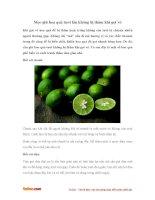 Mẹo giữ hoa quả tươi lâu không bị thâm sau khi gọt vỏ