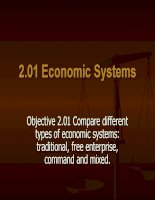 Overview of economic systems