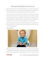 Sai lầm nguy hiểm khi điều trị tiêu chảy cho trẻ