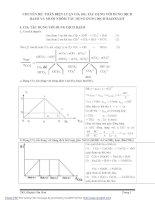 BD HSG hóa học 9: toán biện luận CO2 tác dụng với dd bazơ