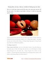 Những điều cần lưu ý khi ăn vải thiều để không hại sức khỏe