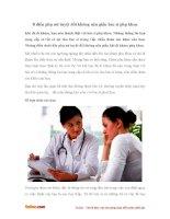 8 điều phụ nữ tuyệt đối không nên giấu bác sĩ phụ khoa