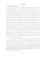 """""""Thực trạng cho vay khách  hàng cá nhân tại phòng giao dịch Phong Châu, ngân hàng thương mại cổ  phần Đầu tư và Phát triển Việt Nam chi nhánh Phú Thọ"""