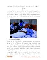 Những điều cần biết về bệnh ung thư di căn màng phổi