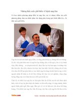 Những thắc mắc phổ biến về bệnh ung thư