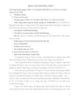 Báo cáo thường niên năm 2012 - Công ty Cổ phần Bê tông ly tâm An Giang