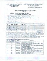 Báo cáo tình hình quản trị công ty - Công ty Cổ phần Xuất nhập khẩu Thủy sản Bến Tre
