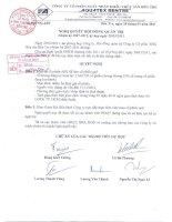 Nghị quyết Hội đồng Quản trị ngày 29-3-2011 - Công ty Cổ phần Xuất nhập khẩu Thủy sản Bến Tre