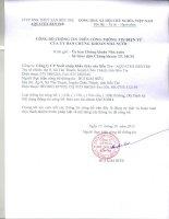 Báo cáo tài chính quý 3 năm 2012 - Công ty Cổ phần Xuất nhập khẩu Thủy sản Bến Tre