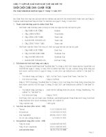 Báo cáo tài chính hợp nhất năm 2007 (đã kiểm toán) - Công ty Cổ phần Xuất nhập khẩu Thủy sản Bến Tre