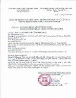 Báo cáo tài chính công ty mẹ quý 2 năm 2015 (đã soát xét) - Công ty cổ phần Bê tông Becamex
